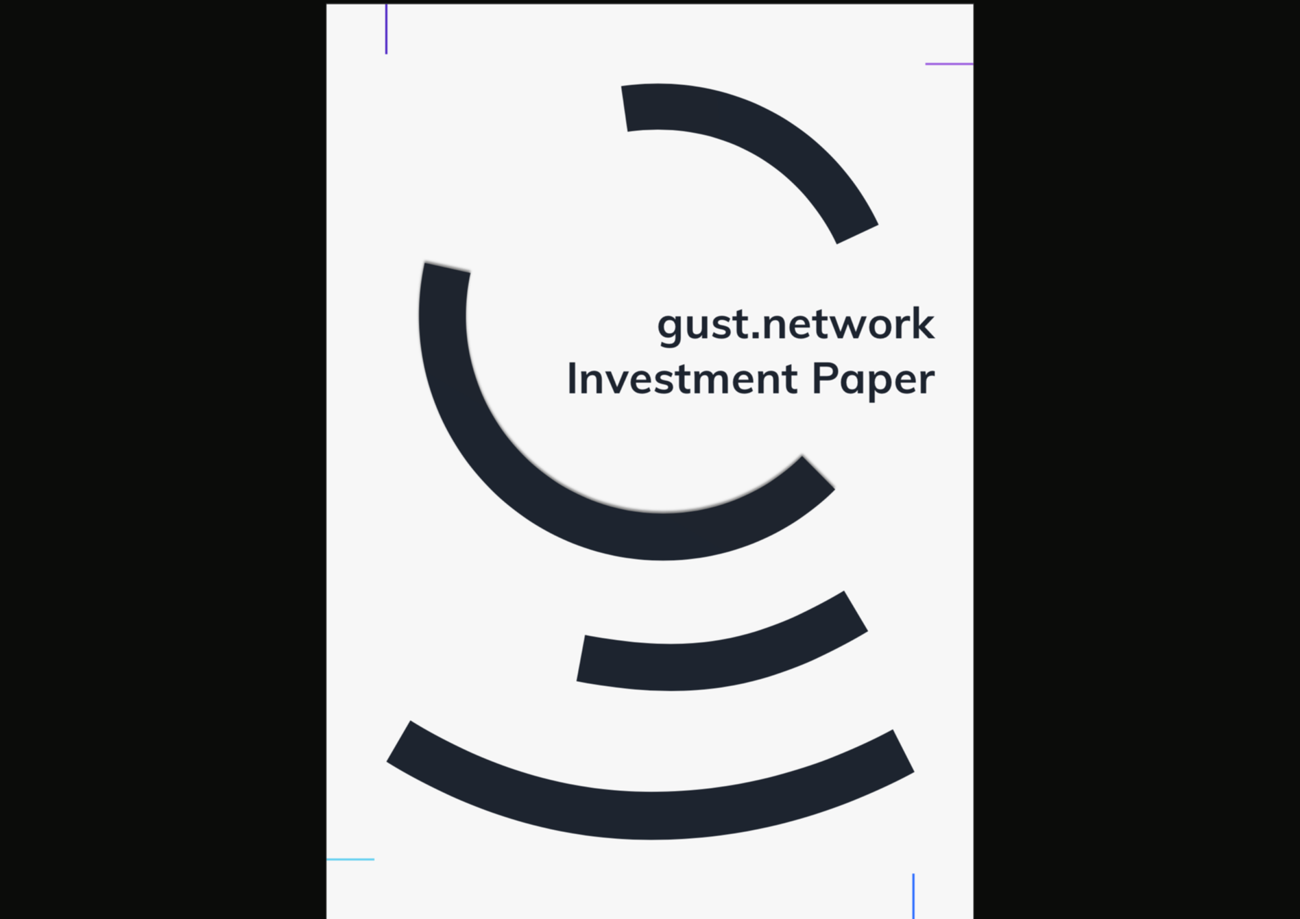 cover page – investment paper